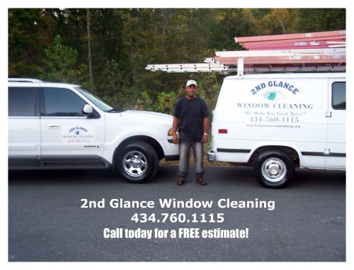 Charlottesville Window Cleaning Specialists - 2nd Glance Window Cleaning