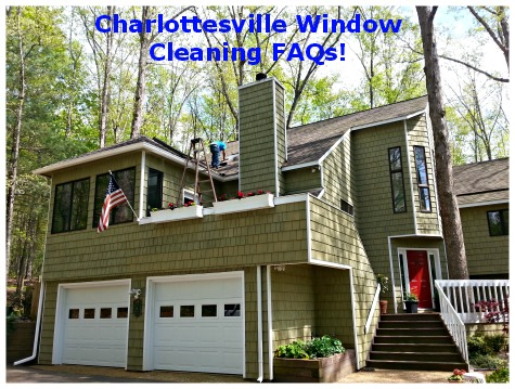 Charlottesville Window Cleaning FAQs